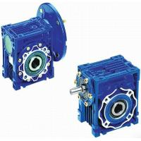 Quality Mechanical NMRV Worm Transmission Reverse Gearbox With Motor , Solid Shaft wholesale