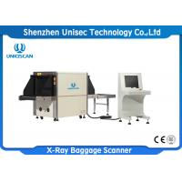 Quality Professional X Ray Baggage Scanner / X Ray Security Inspection System wholesale