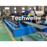 Quality 90mm Shaft Diameter Cable Tray Roll Forming Machine With 3.0kw Servo Feeding Device wholesale