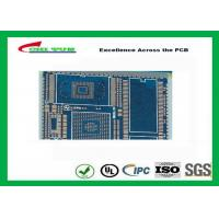 Quality PCB Fabrication And Assembly Printed Circuit Board Assemblies 6 Layer Blue Solder Mask wholesale