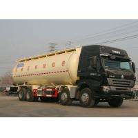 Quality High Safety Bulk Cement Truck Tanker Trailer 371HP 8X4 LHD 36-45CBM wholesale