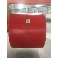 Quality Galvalume Steel Sheet Prepainted Steel Coil Red Color For Corrugated Tile wholesale