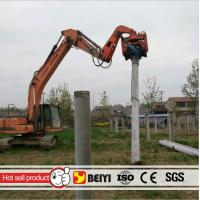 Quality Prestressed concrete pipe pile excavator hydraulic high frequency vibratory pile hammer/driver wholesale