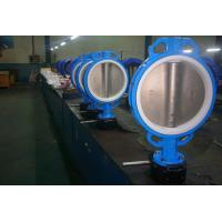 Quality High Pressure Wafer Type Butterfly Valve / OEM 6 Inch Butterfly Valve wholesale