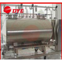 Quality SUS304 / SUS316 Cip Clean In Place Equipment 100MM Insulation Thickness wholesale