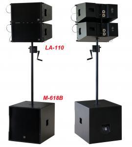 Buy cheap 380W Line Array Speaker , With 2x1