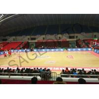 Quality Basketball Stadium Perimeter Led Display Screen 6mm High Definition Aluminum Cabinet wholesale
