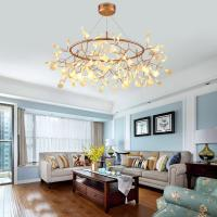 China Acrylic Modern Chandelier Lighting lamp G4 led Chandelier Ceiling Luminaria Bedroom Suspended Lamp Firefly Lustre on sale