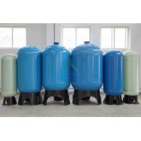 China RO FRP Sealed Reverse Osmosis Water Storage Tank 0.25M3 - 200M3 With Blue / Nature White on sale