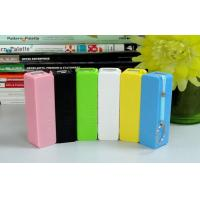 Quality Perfume Mobile Power Bank with key chain for Samsung,smartphone ,1500mAh wholesale
