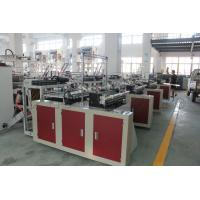 Quality Eco Friendly Express Bag Making Machine With Double Unwinder 30 - 130pc / Min wholesale