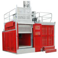 Cheap Rack & Pinion Industrial Lift / Elevators with SAJ50-2.0 Safety Device in China for sale
