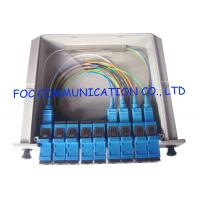 Quality Fiber Optic PLC Splitter 1×4 For PON Networks Optical Power Signal Distribution wholesale