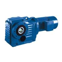 Quality 1.5kW S77/S87/S97 Ratio 43.33/99.26/196.52 liming reducer n20 gear motor with encoder wholesale