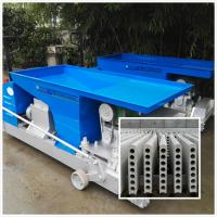 China new green high frenquency  precast hollow core concrete lightweight partition 90*600mm wall panel making machine on sale