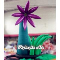 Quality Simple Outdoor Inflatable Flower with Blower for Wedding and Party Supplies wholesale