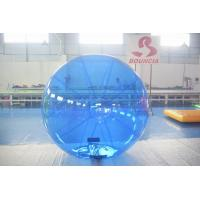 Quality Blue Color Inflatable Water Walking Ball With 0.8m PVC Material wholesale