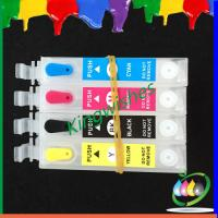 Quality T1771-T1774 refillable ink cartridge for Epson XP-102 XP-202 with 4 color chip wholesale