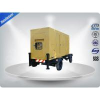 Quality Low Noise Trailer Mounted Generator Mobile Six cylinder 100-200kw 225kva wholesale