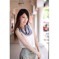China Silk Polyester Scarf (12-BR050320-6.8) on sale