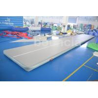 Quality Tumble Track Inflatable Air Mat For Gymnastics With Drop Stich Fabric wholesale