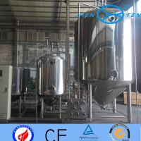 Quality Steam Electric Heating Stainless Steel Fermentation Tanks Dairy wholesale