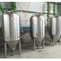 Quality 1000L Red Copper Shell Inner Stainless Steel Three Vessels Brewhouse with PU Instualtion wholesale