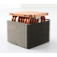 Quality High Dissipate Efficiency Anti Anodized Copper Pipe Heat Sink wholesale