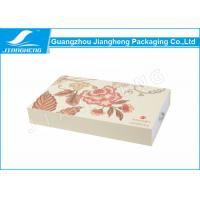 Quality EM Drawer Gift Boxes / Cosmetic Packaging Boxes LOGO Printing Matte Surface wholesale