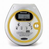 China Six-digit LCD Personal CD Player with 20 Tracks Programmable Memory on sale