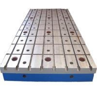 China Welding Use Cast Iron Surface Plate With Hole 3000 X 2000 MM HT200-300 on sale