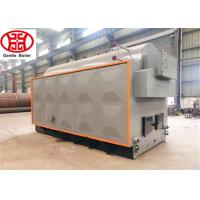 Quality 500kg 1000kg steam output DZH horizontal biomass or coal- fired steam boiler for textile industry wholesale