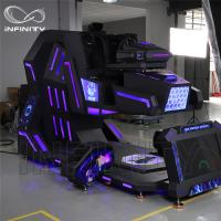 Quality Cockpit 360 Degree VR Motion Racing Simulator For Shopping Mall wholesale