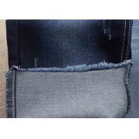 Cheap unifi repreve denim fabric recycled material dark blue soft jeans fabric for sale