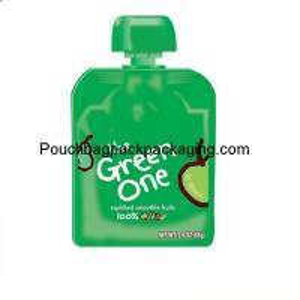 Quality Aluminum foil jucie spout pouch beverage pouch resealable bag spout fill with cap wholesale