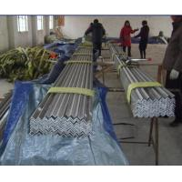 Quality Hot rolled Equal 301 321 310S 316 stainless steel angle bar for architecture structure wholesale