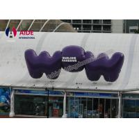 Quality 3M Big Words Outdoor Advertising Inflatables , Led Light Balloons Displays wholesale
