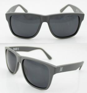 Cheap Fashion Custom Blue Acetate Frame Sunglasses , Vogue Sun Glasses for sale