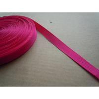 Quality Polyester nylon Custom Color Shiny Elastic Binding Tape , Elastic bra straps wholesale