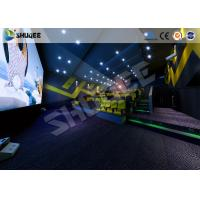 Quality International Impressive 4D Cinema Movies Theater Experience With Different Scenes wholesale