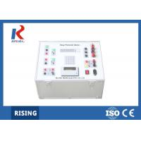 China Single Phase Relay Protection Tester RSRPD 100h Maximum Measuring Range on sale