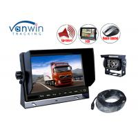 China Heavy Duty Digital 3 Channel car lcd monitor for AHD cameras , 10.1 Inch on sale