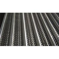 Quality Stainless Steel Rib Lath Mesh , Hot Galvanized Expanded Metal Mesh wholesale