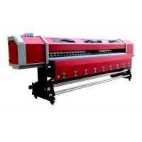 Quality Outdoor 3.2M Double Heads Eco-solvent Printing Machine For PP , Vinyl , Canvas wholesale
