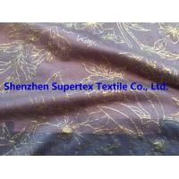 Buy cheap High Fastness Gold Foil Print Cotton Jersey Resist Multiple Wash 183GSM from wholesalers
