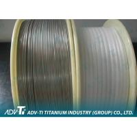 China ERTi - 20 Titanium And Titanium Alloy Wire Welding Wire Rods AWS A5 . 16M - 2007 on sale