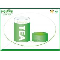 Cheap Food Grade Green Tea Tube Packaging Handmade High End Environmentally Friendly for sale