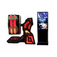 China Theme Park Full Motion Flight Simulator 360 Degree Blue Kingkong With Controller on sale