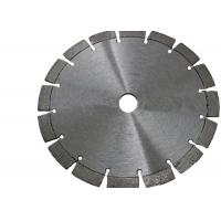 Quality Laser Welded 125mm Diamond Circular Stone Saw Blade With 10mm Segment Height wholesale