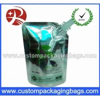 Quality Plastic Juice Stand Up Pouches With Spout , Food Grade heat seal bags wholesale